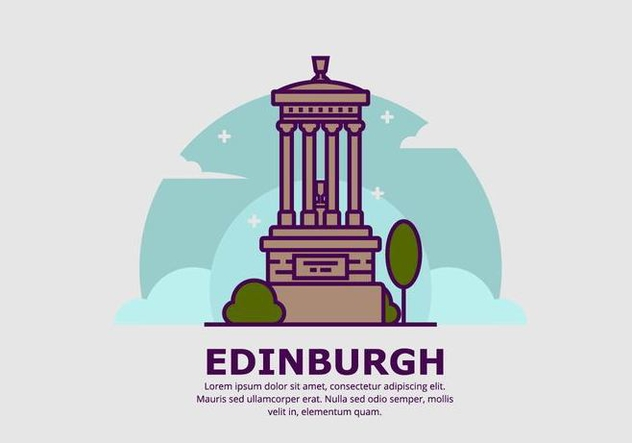 Edinburgh Background - бесплатный vector #428369