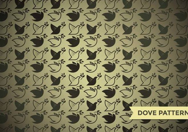 Paloma Dove Pattern Vector - Free vector #428379