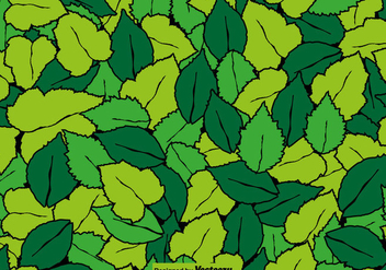 Leaf Seamless Pattern - Vector - Free vector #428539