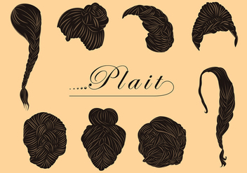 Free Various Plait Style Vectors - бесплатный vector #428659