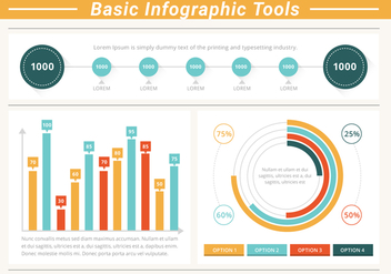 FreeI Infographic Tools Vector Elements - vector #428719 gratis