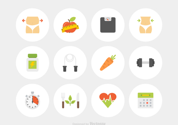 Free Slimming Vector Icons - бесплатный vector #428729