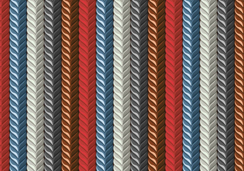 Leather Pattern Seamless Plait - Free vector #429159