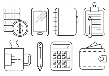 Free Business and Office Icons - vector #429359 gratis