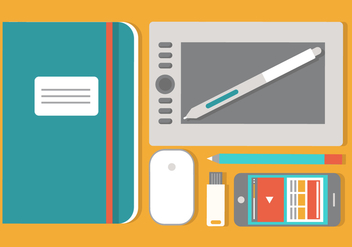Free Flat Design Vector Elements - vector #429499 gratis