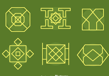 Islamic Ornament Collection Vectors - Free vector #429829