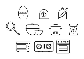 Free Cooking Icon Vector - vector #429909 gratis