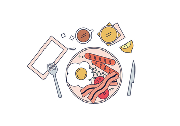 Free Meal Vector - Free vector #429959