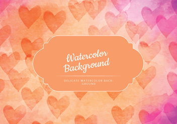 Vector Colorful Watercolor Background - vector #430399 gratis