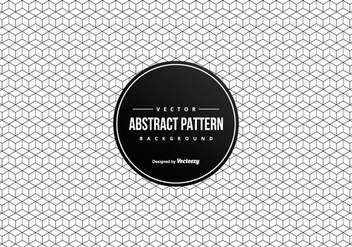 Geometric Abstract 3D Squares Pattern Background - Free vector #430409