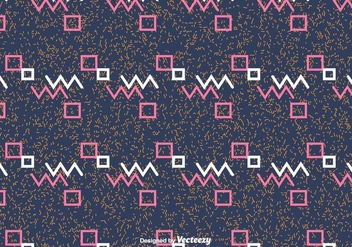 Abstract Geometric Vector Pattern - Free vector #430779