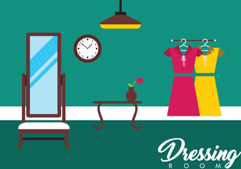 Free Dressing Room Vector - Free vector #430919
