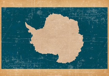 Flag of Antarctica on Grunge Background - vector gratuit #431229
