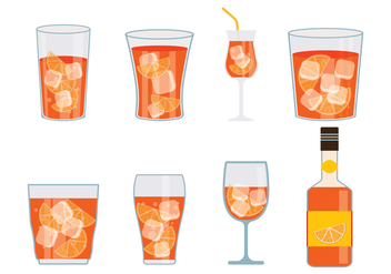 Spritz Vector Icons Set - vector #431239 gratis