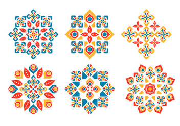 Islamic Ornament Vector Pack - бесплатный vector #431309