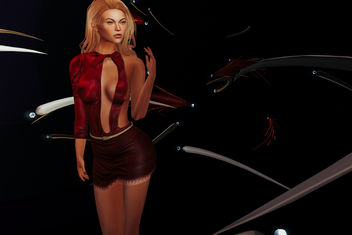 Dress Alicia by Lybra @ The Crossroads - бесплатный image #431769