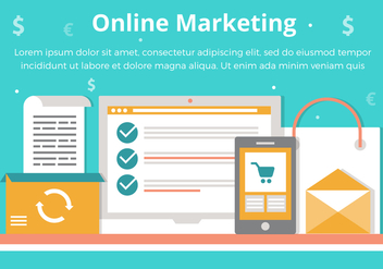 Free Vector Online Marketing Elements - vector #431939 gratis