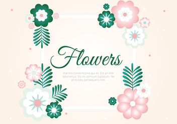 Free Spring Season Vector Background - Kostenloses vector #431959