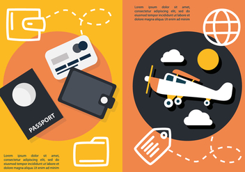 Free Flat Travel Concept Vector - бесплатный vector #431969