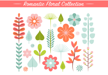 Free Spring Flower Vector Elements - Kostenloses vector #431989
