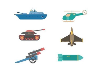 Free Elegant Military Element Vectors - Free vector #432289