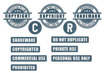 Copyright Icon Vector - Free vector #432299