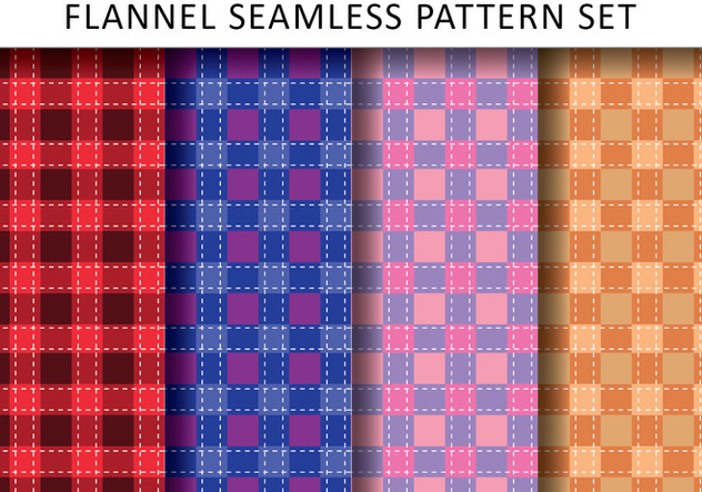 Casual Flannel Pattern - Free vector #432579