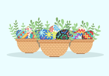 Easter Egg Vector Collection - vector gratuit #432619