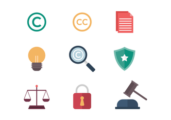 Free Copyright Vector Icons - бесплатный vector #432689