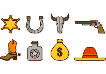 Vector Gaucho Icons - бесплатный vector #432889