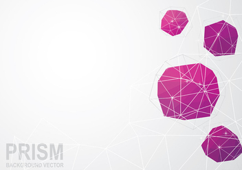 Prisma Background Vector - Free vector #432999