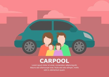Carpool Background - Free vector #433019