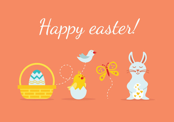 Easter Element Illustration - Free vector #433159