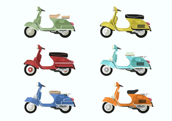 Lambretta Vector Collections - бесплатный vector #433449