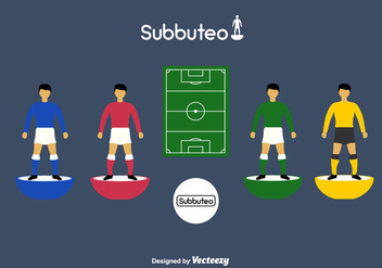 Subbuteo Icon Set - vector #433499 gratis
