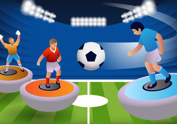 Subbuteo Table Football Game - Free vector #433619
