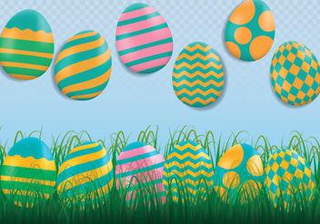 Easter Background - vector #433659 gratis