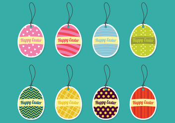Decorative Easter Eggs - Kostenloses vector #433799