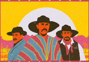 Group Of Gauchos - Kostenloses vector #433889