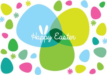 Easter Background - vector gratuit #433959