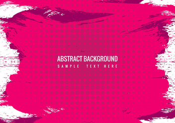 Free Vector Pink Grunge Background - Free vector #434069