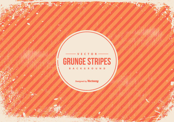 Orange Grunge Stripes Background - vector #434779 gratis