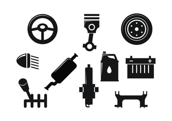 Free Automotive Icon Vector - vector #435049 gratis