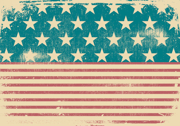 Grunge American Patriotic Background - бесплатный vector #435199
