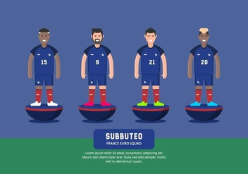 Subbuteo Illustration - vector #435399 gratis