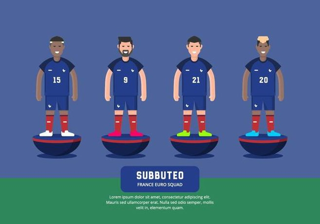 Subbuteo Illustration - Kostenloses vector #435399