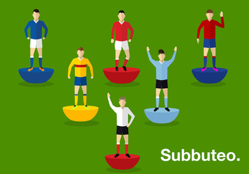 Subbuteo Person Free Vector - Free vector #435779