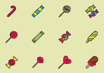 Sweet Candy - Free vector #436119
