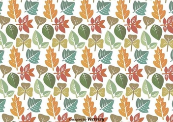 Leaves Pattern Vector Icons - Kostenloses vector #436239