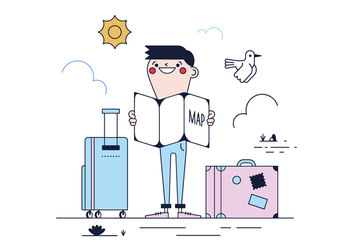 Free Travel Vector - vector #436249 gratis